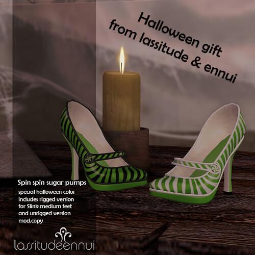 lassitude & ennui Halloween gift