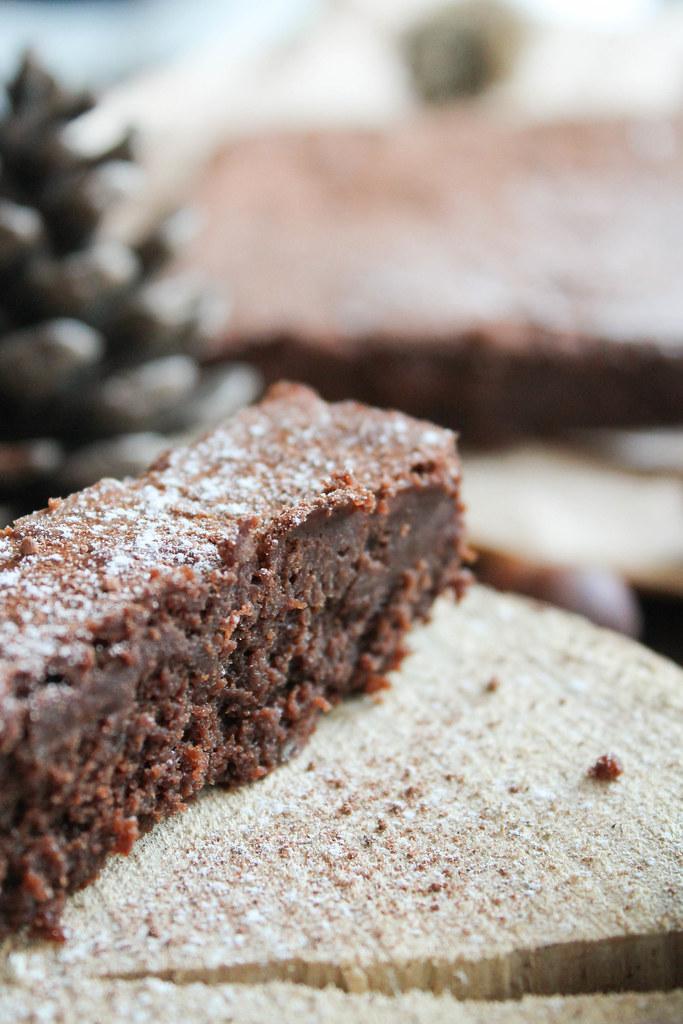 Fondant chocolat marron facile
