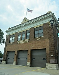 Fire station, University Avenue, St. Paul, Minnesota