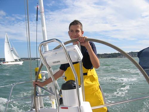 Broad Reach sailing