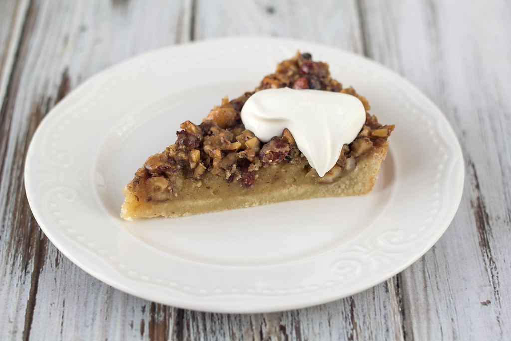 Recipe for Homemade Danish Mazarin Cake with nuts
