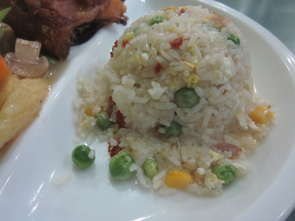 Yang Chow Rice at City De Luxe