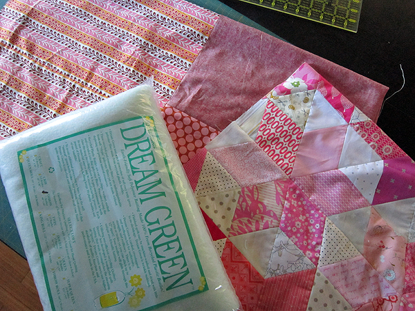 quilting with Dream Green