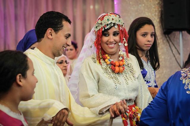 Mariage d'Anaïs et d'Ali, Casablanca, Maroc