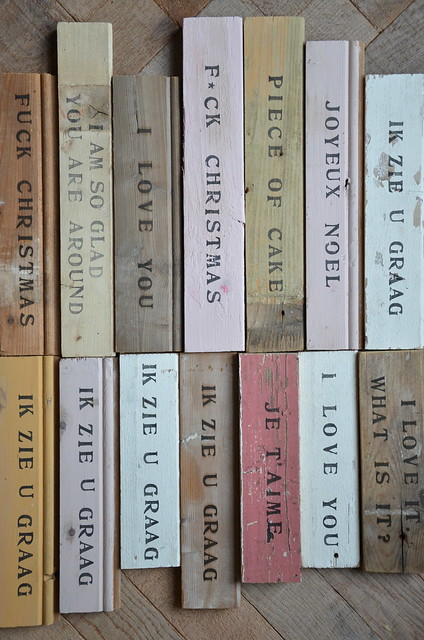 wood & word signs winterfair