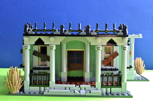 Haunted Mansion - Stage 1 front