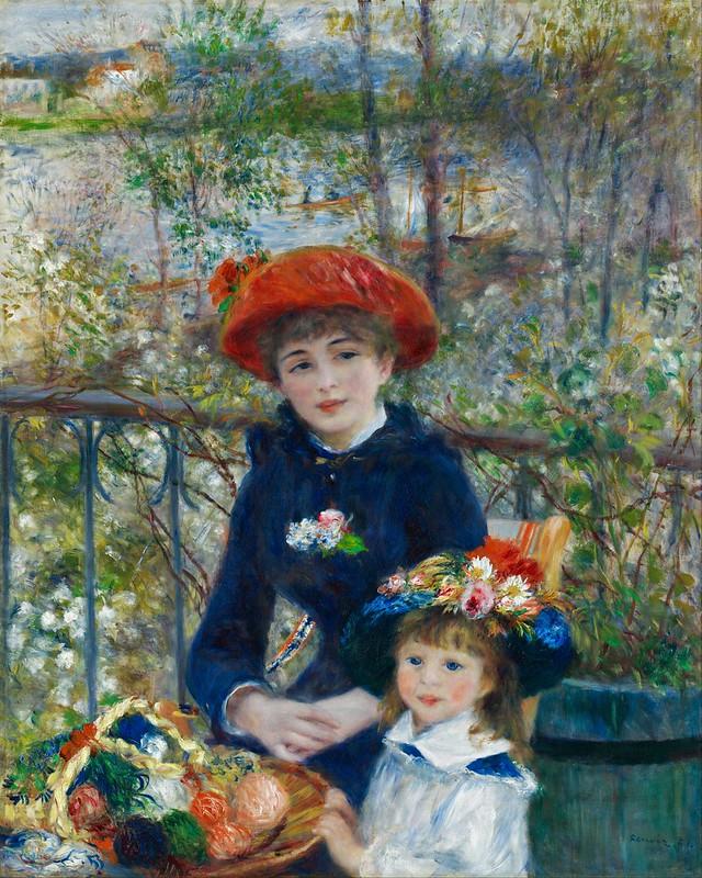 Pierre Auguste Renoir - Two Sisters (1881)
