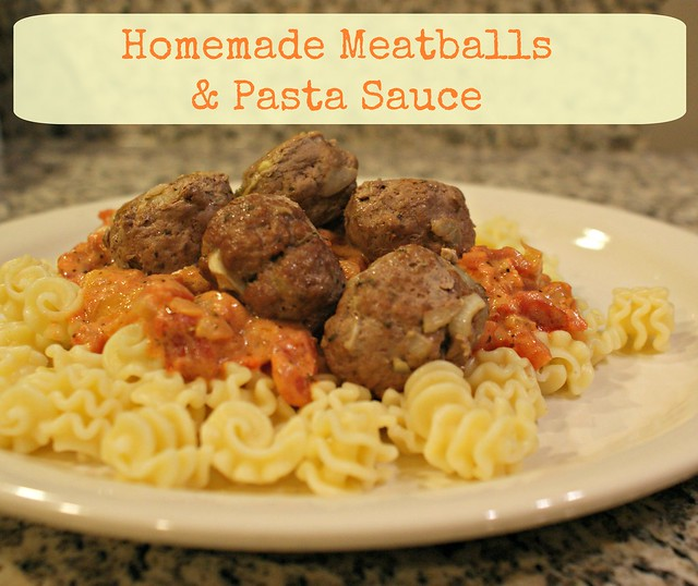 Meatballs with text