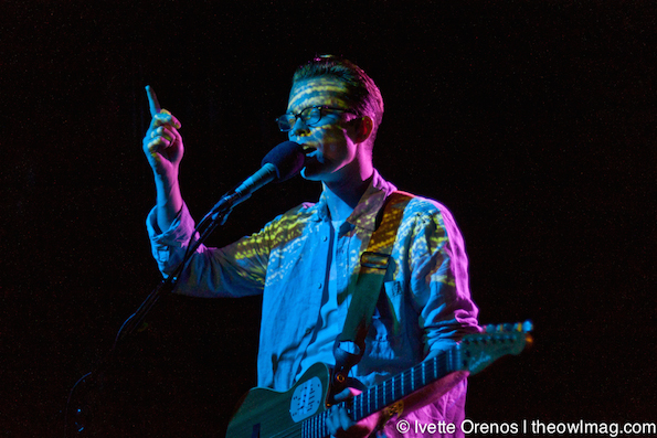 Tom Vek @ The Echo, LA 10/23/14