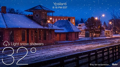 Yahoo Weather App Screenshot