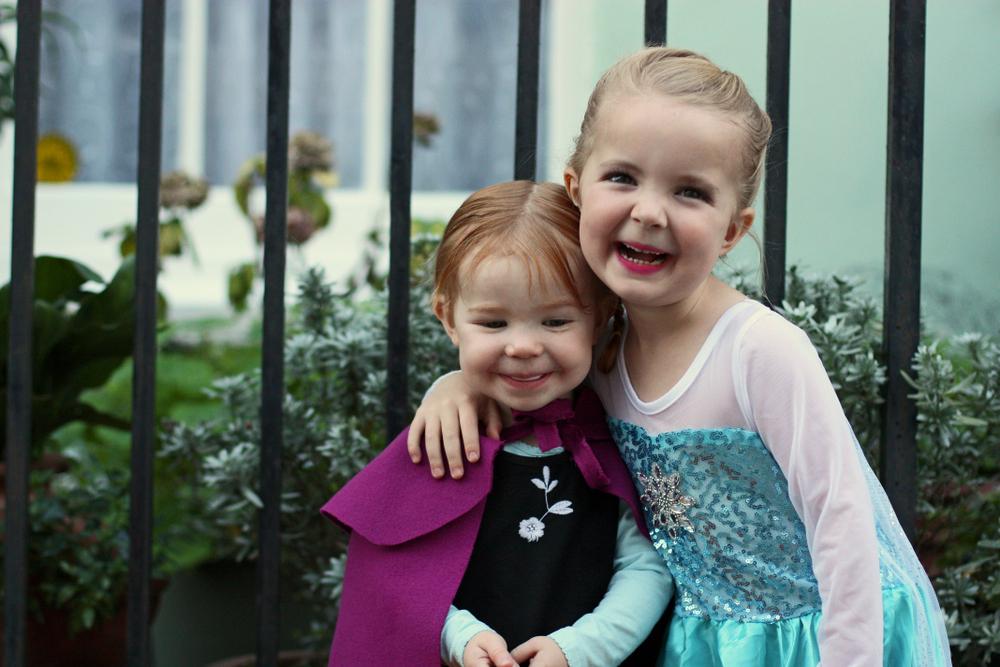 Elsa and Ana Halloween