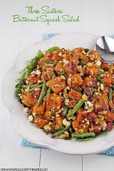 Three Sisters Butternut Squash Salad #recipes