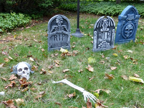 Graveyard skeleton