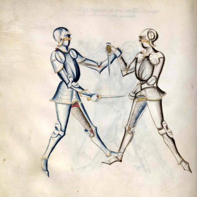 006-Kal Paulus Fechtbuch gewidmet dem Pfalzgrafen Ludwig- BSB Cgm 1507- Bayerische StaatsBibliotehek