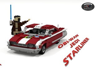 Linotopia - Obi-Wan's Jedi Starliner