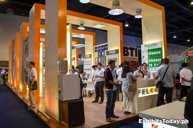 Schneider Exhibit Booth