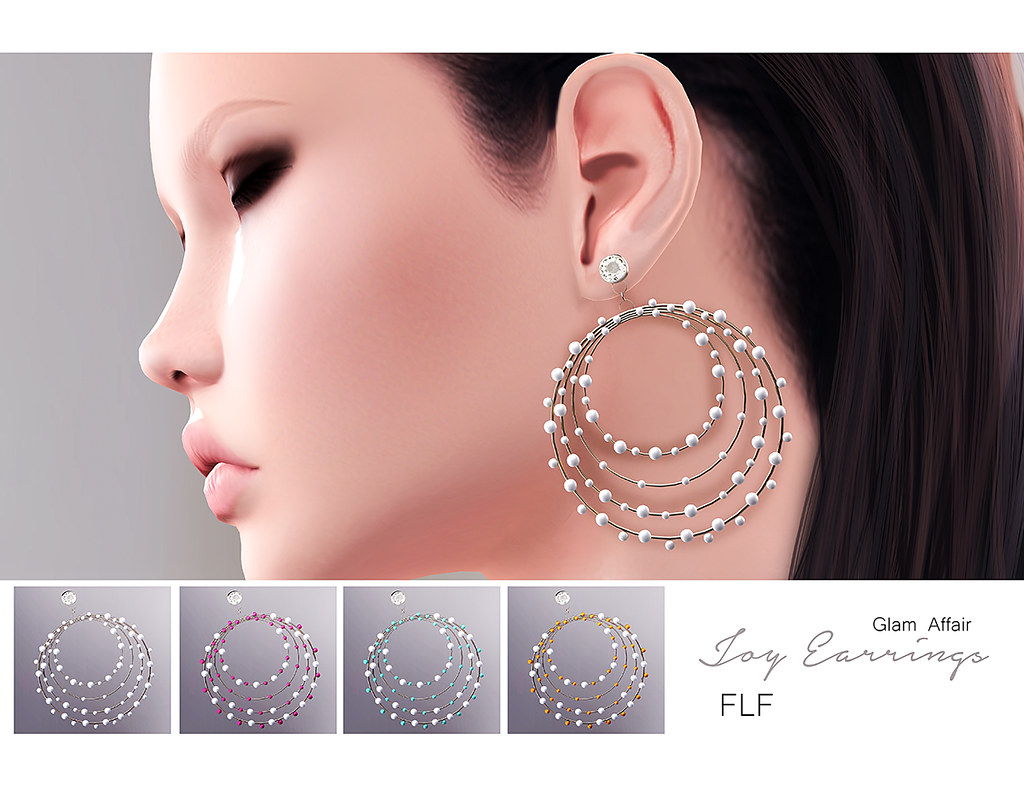 -Glam Affair - Joy earrings