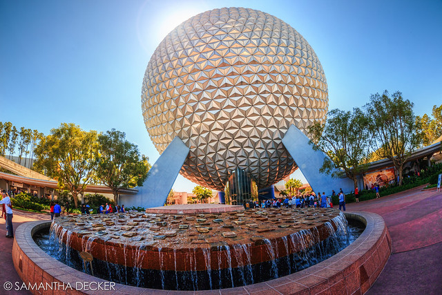 EPCOT on a Sunny Morning