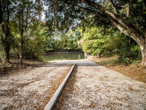 Savannah River from Stokes Bluff with LCU Nov 7, 2014, 4-18 PM Nov 8, 2014, 8-045