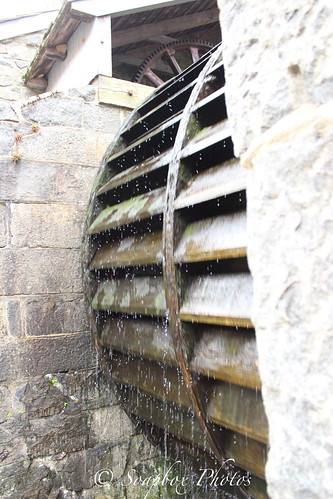 """Water Wheel at Hagley Museum and Library"""