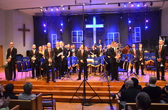 Betlehemskyrkans Musikkår med dir. Jörgen Ådvall