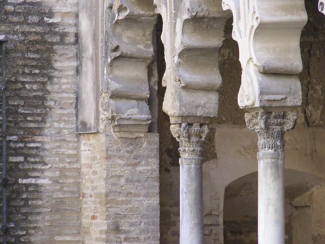Real Alcázar. Detalle.