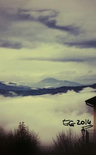 fog samsung nebbia colline collina smartphoto note3