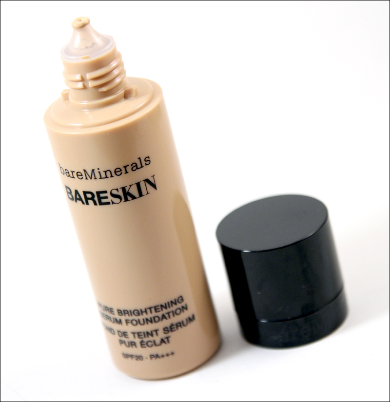 bareMinerals bareskin foundation1