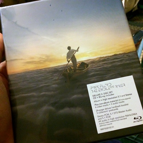 The Endless River has arrived!