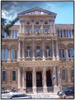 Louisville Ky ~ Louisville City Hall ~ Pediment