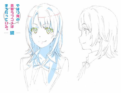 141119(1) -「戸松遥×佐倉綾音」加入團隊、電視動畫《果然我的青春戀愛喜劇搞錯了。續》發表新角色造型!