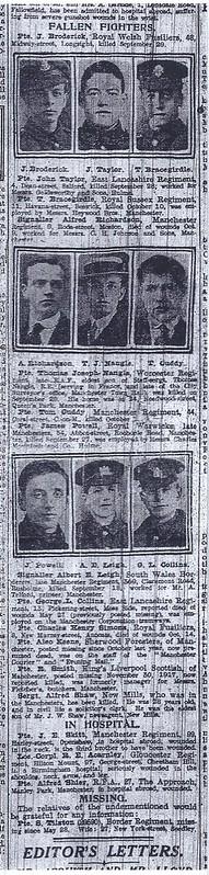 [6] Manchester Evening News - Fallen Fighters