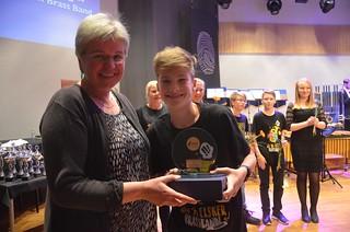 Lucas Hjortlinger - Instrumentalistpris i Minibrassdivisionen