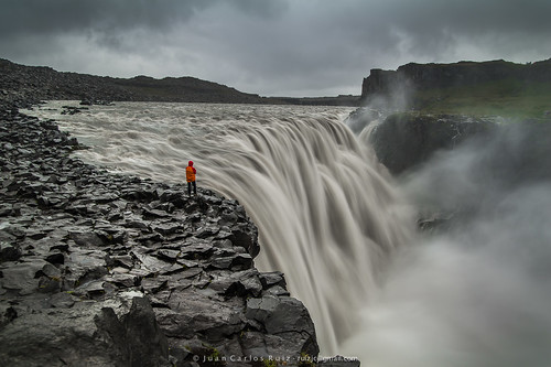 norðurlandeystra islandia dettifoss sunrise water waterfall iceland cascada