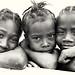 Madagascar, girls on the beach by Dietmar Temps