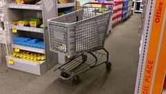 Office Depot Shopping cart