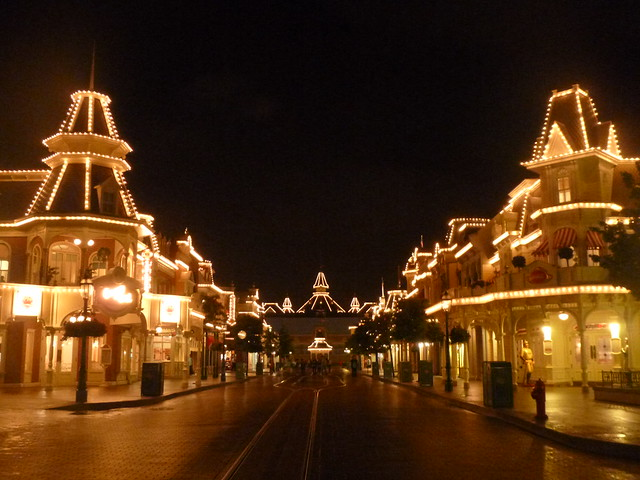 Main Street looking towards, Panasonic DMC-SZ1