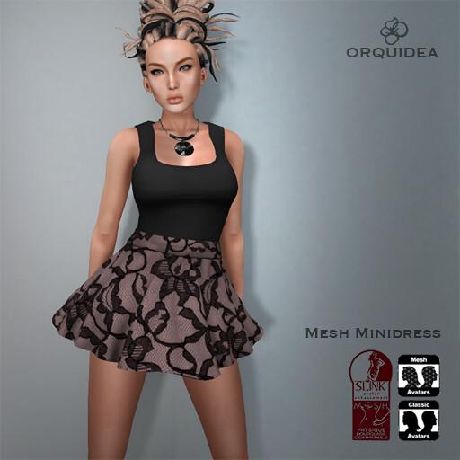 ORQUIDEAminidressblacklace - SecondLifeHub.com