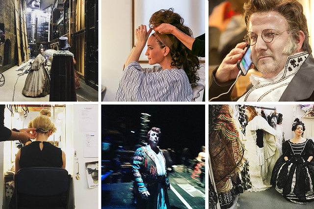 Photos taken at the #OperaGram Instameet during The Royal Opera's Les Contes d'Hoffmann © Instagram Tilly2Milly / Ginirhee / Neil Gillespie / Tilly2Milly