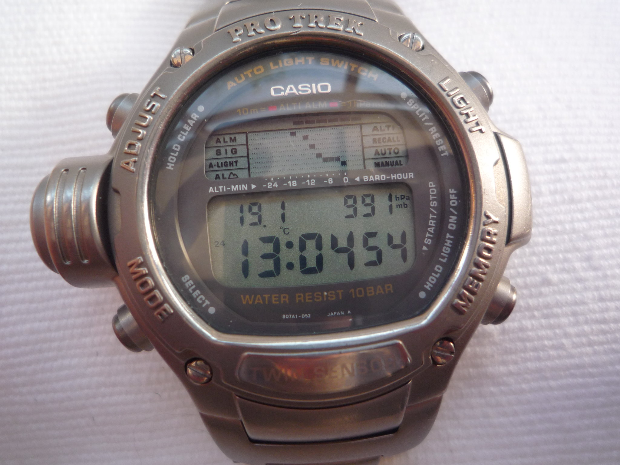 compass rare watch dsc thermometer pat triple digital clean products abc watches pathfinder klawk sensor ddbf casio