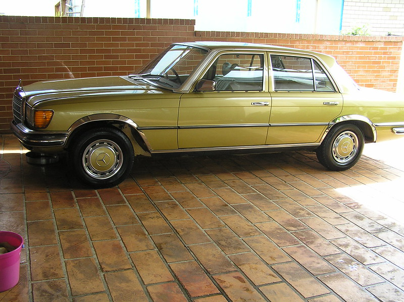 My 450SE Mercedes 019