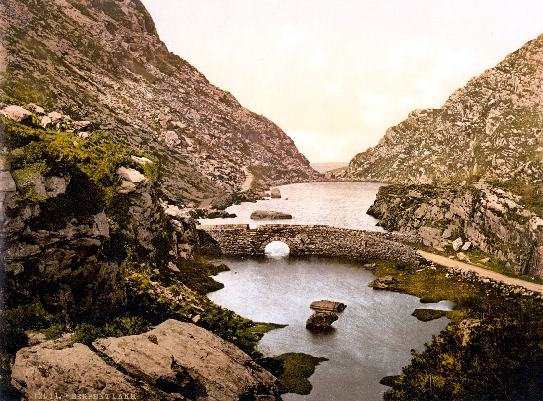 Serpent Lake, Gap of Dunloe, Killarney. County Kerry, Ireland