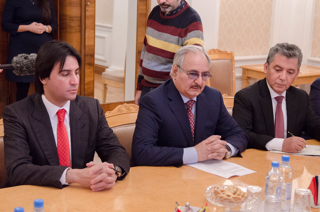 С.Лавров и Х.Хафтар | Sergey Lavrov & Khalifa Haftar