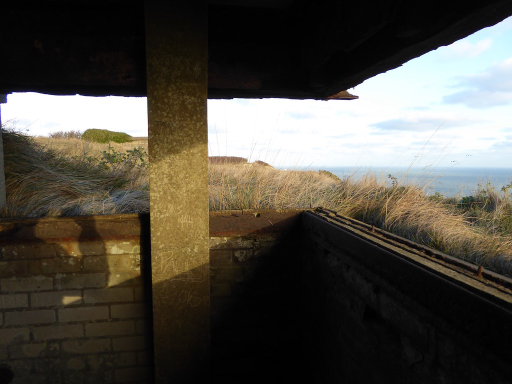 WW2 Gun emplacement Folkestone to Dover walk