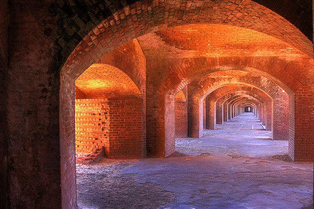 Fort Jefferson, Canon EOS REBEL T5I, Tamron 18-250mm f/3.5-6.3 Di II LD Aspherical [IF] Macro