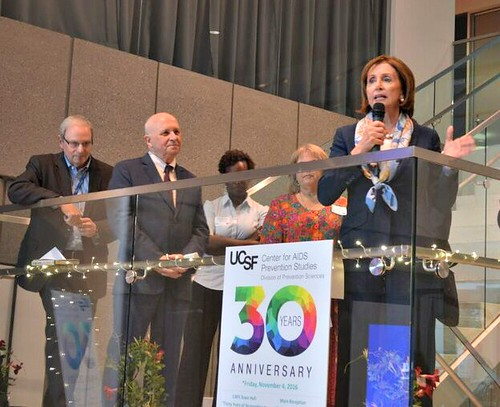 Congresswoman Pelosi Celebrates 30th Anniversary of UCSF Center for AIDS Prevention Studies
