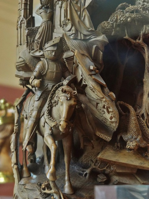ca. 1520 - 'Scenes from the Life of St. George', Southern? Low Countries, V&A, London, England