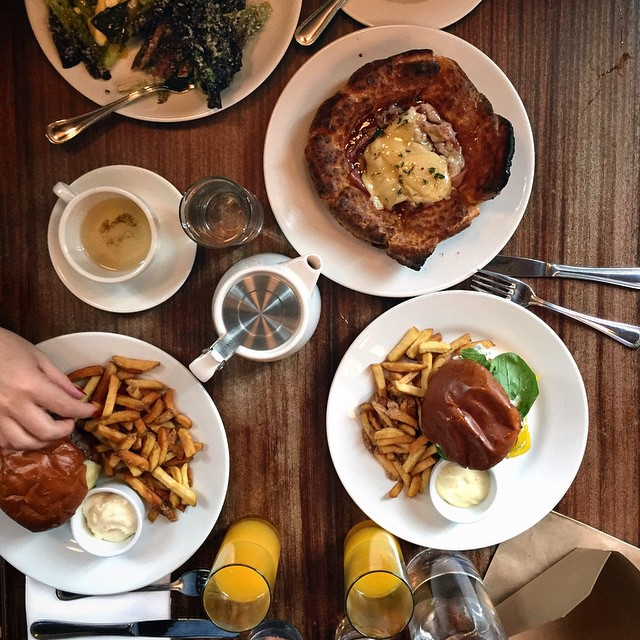Last breakfast with Tomo at Reynards, Brooklyn. Such an intense weekend :)