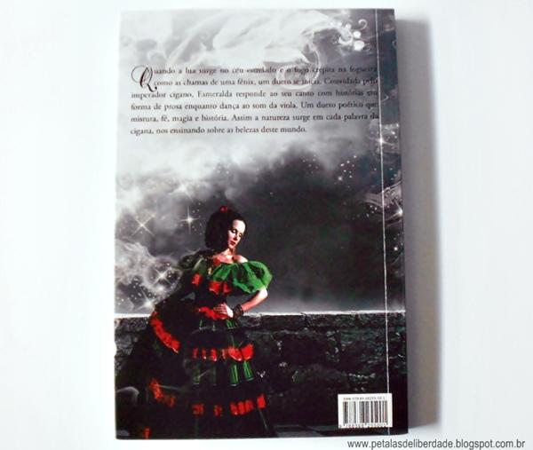 Resenha, livro, Esmeralda, Cida dos Santos, Editora Arwen, box, poesia, romance, contracapa, sinopse