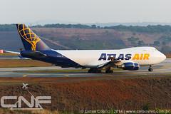 Boeing 747-400F Atlas Air N418MC